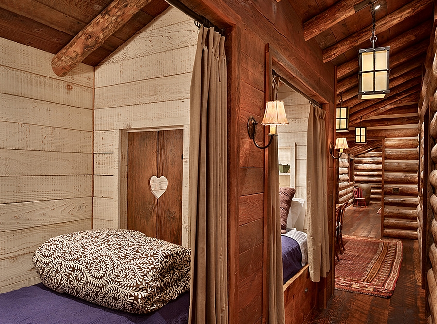 Creative kids' bedroom makes most out of the available space [Design: North Fork Builders of Montana]