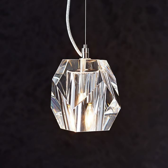 Crystal Pendant from West Elm