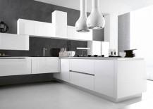 Custom kitchen design brings a splash of minimalism indoors