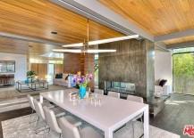 Custom prefab home - dining room
