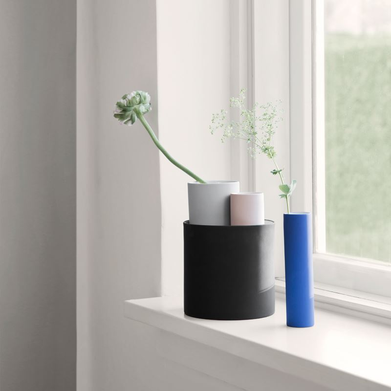 Cylinder vases from Ferm Living