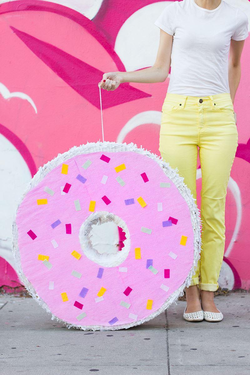DIY donut pinata from Studio DIY