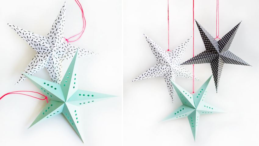 DIY printable stars from Oh Happy Day