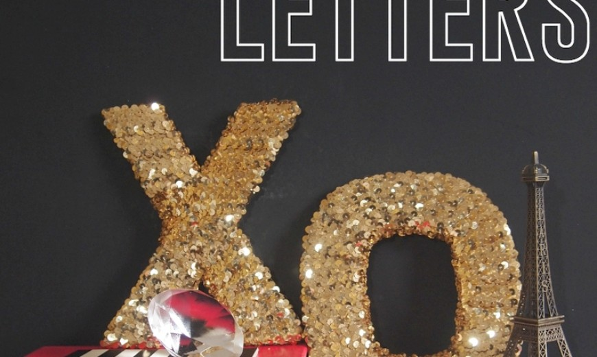 Bring a Little Love & Sparkle Home with Sequins!