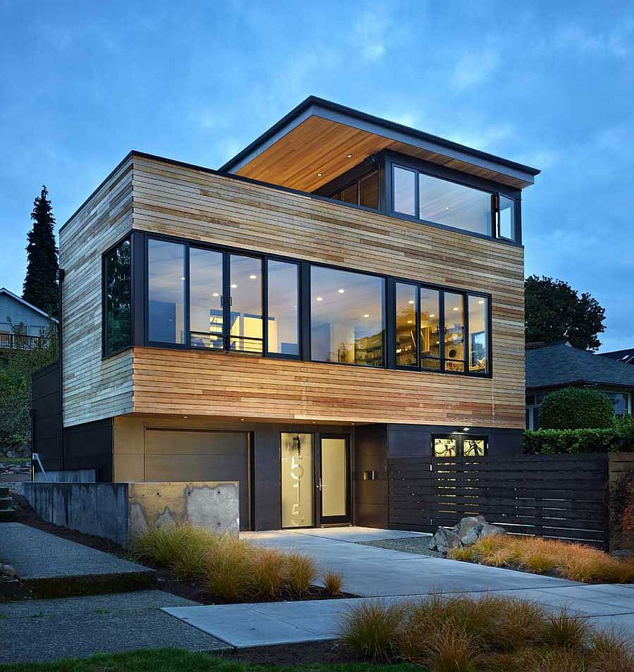 Contemporary cycle house by chadbourne doss architects for Modern steel house