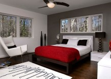 Dark-gray-accent-wall-and-pops-of-black-anchor-the-lovely-room-217x155