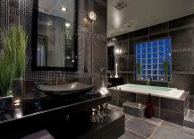 Darker-tones-of-gray-complement-black-beautifully-in-the-contemporary-bath-217x155