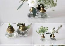 Door Knob DIY Flower Vase