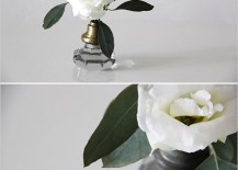 Door Knob Flower Vase DIY