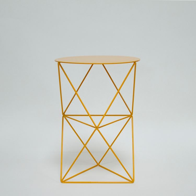 Double Octahedron Pedestal by Eric Trine