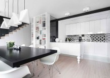 Eames-chairs-and-creative-pendants-shape-the-dining-room-217x155