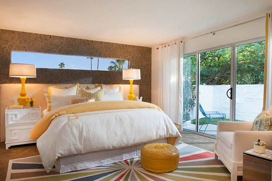 Elegant use of color in the bedroom [Design: Joel Dessaules Design]