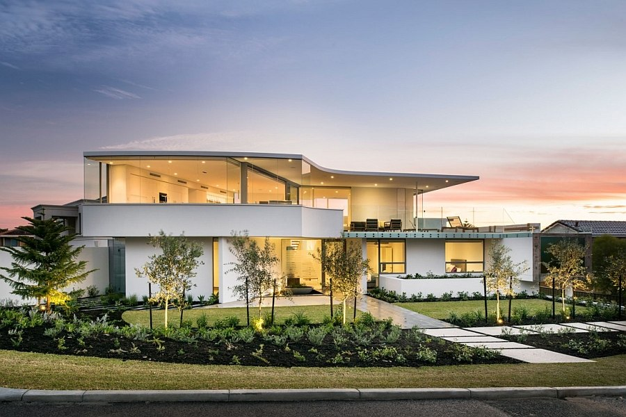 Exclusive City Beach Residence in Perth Australia Minimalist Aesthetics Define Resort Style Private Perth Residence