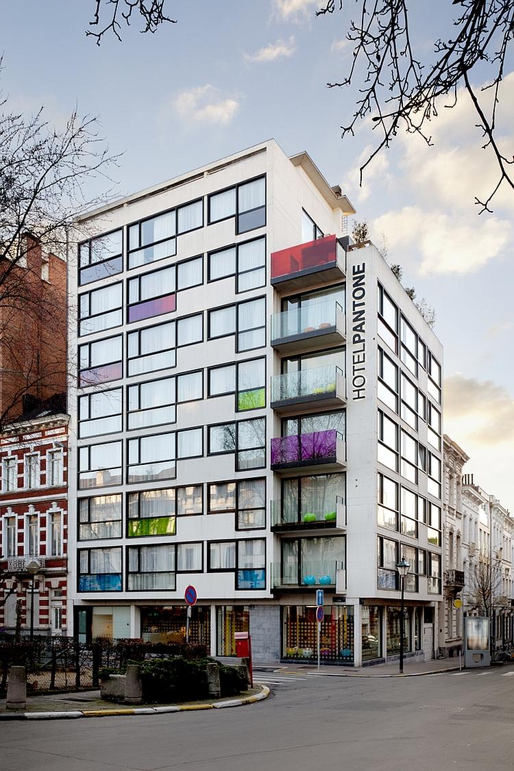 Exclusive Pantone Hotel in Brussels
