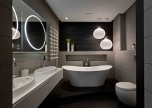 Exquisite-use-of-pendant-lights-in-the-stunning-master-bath-217x155