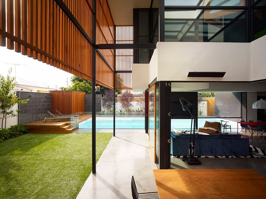 Fabulous Aussie house showcases a seamless indoor-outdoor connectivity
