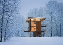 Delta Shelter: Adaptable Prefab Cabin Retreat with Cool Operable Windows