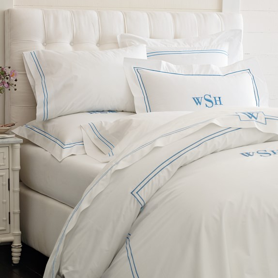 Fairfax Tall Bed & Headboard White Bedroom