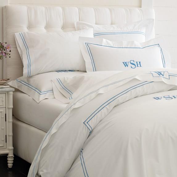 Fairfax Tall Bed & Headboard White Bedroom