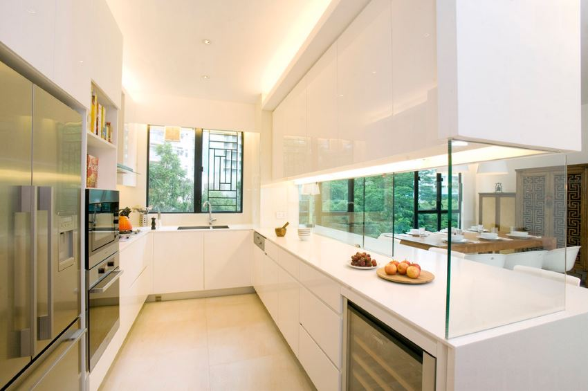 Foodie supplies in a modern kitchen