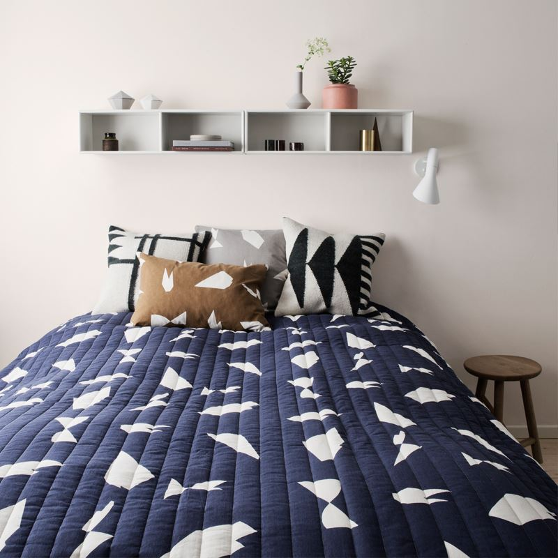 Geometric bedding from Ferm Living