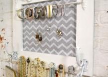 Glass Doorknob Jewelry Holder