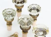 Glass Doorknob Wine Stopper Corks