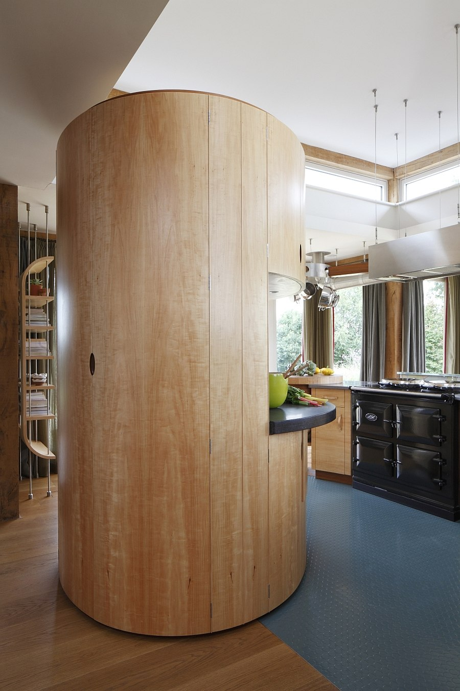 Gorgeous pantry cupboard with walk-in pantry and a worksurface