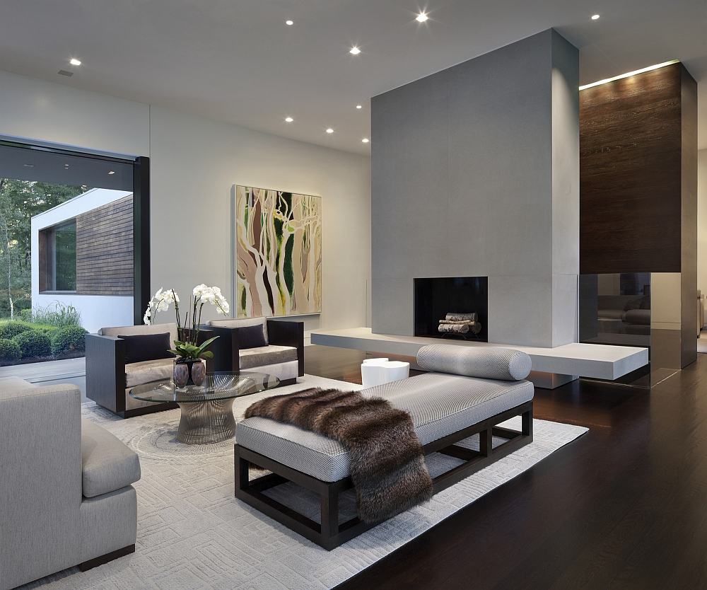 Gray brings style and sophistication to the living room