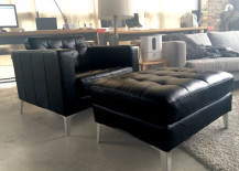 Ikea Couch and Chair + Ottoman on Krrb