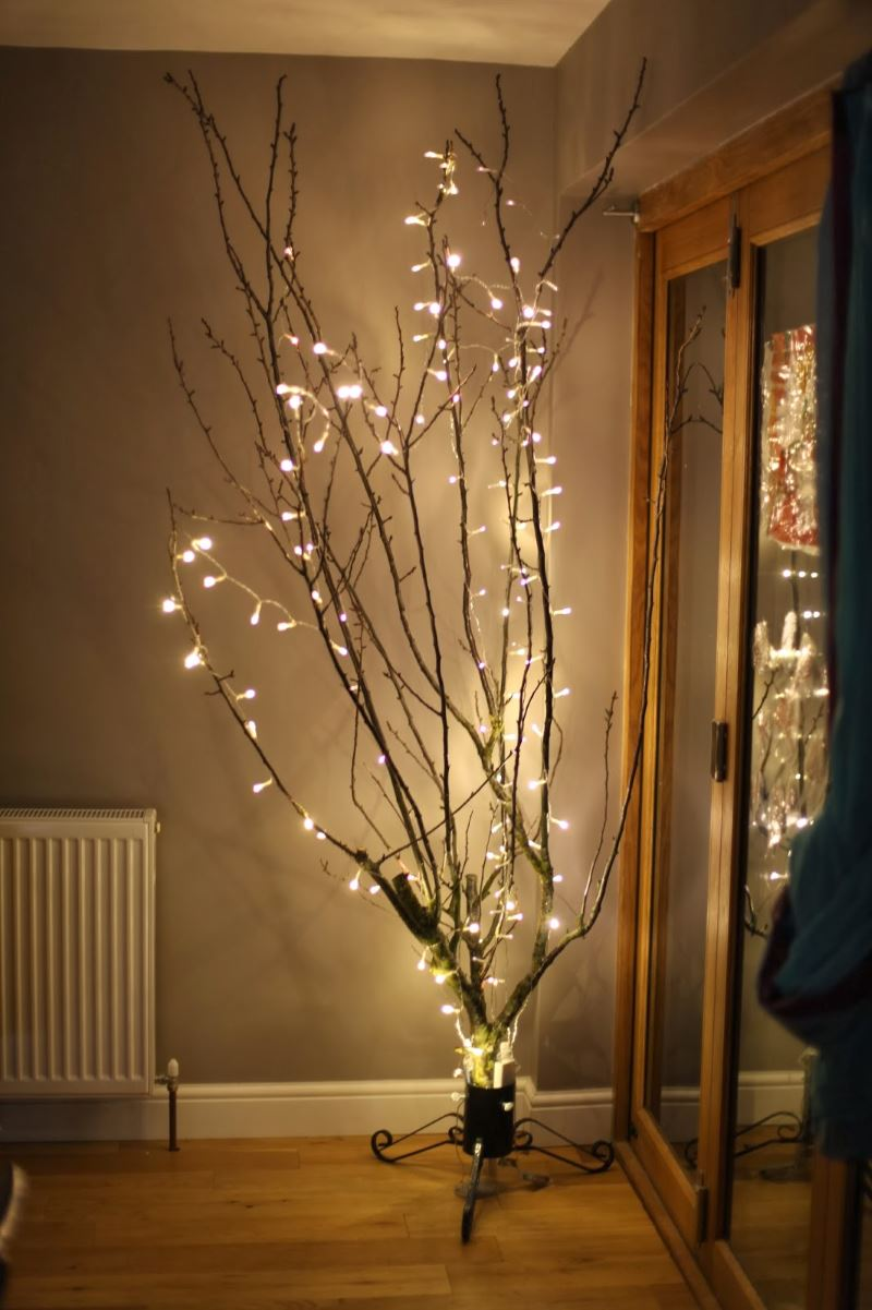 Christmas Tree Branch Decoration Ideas