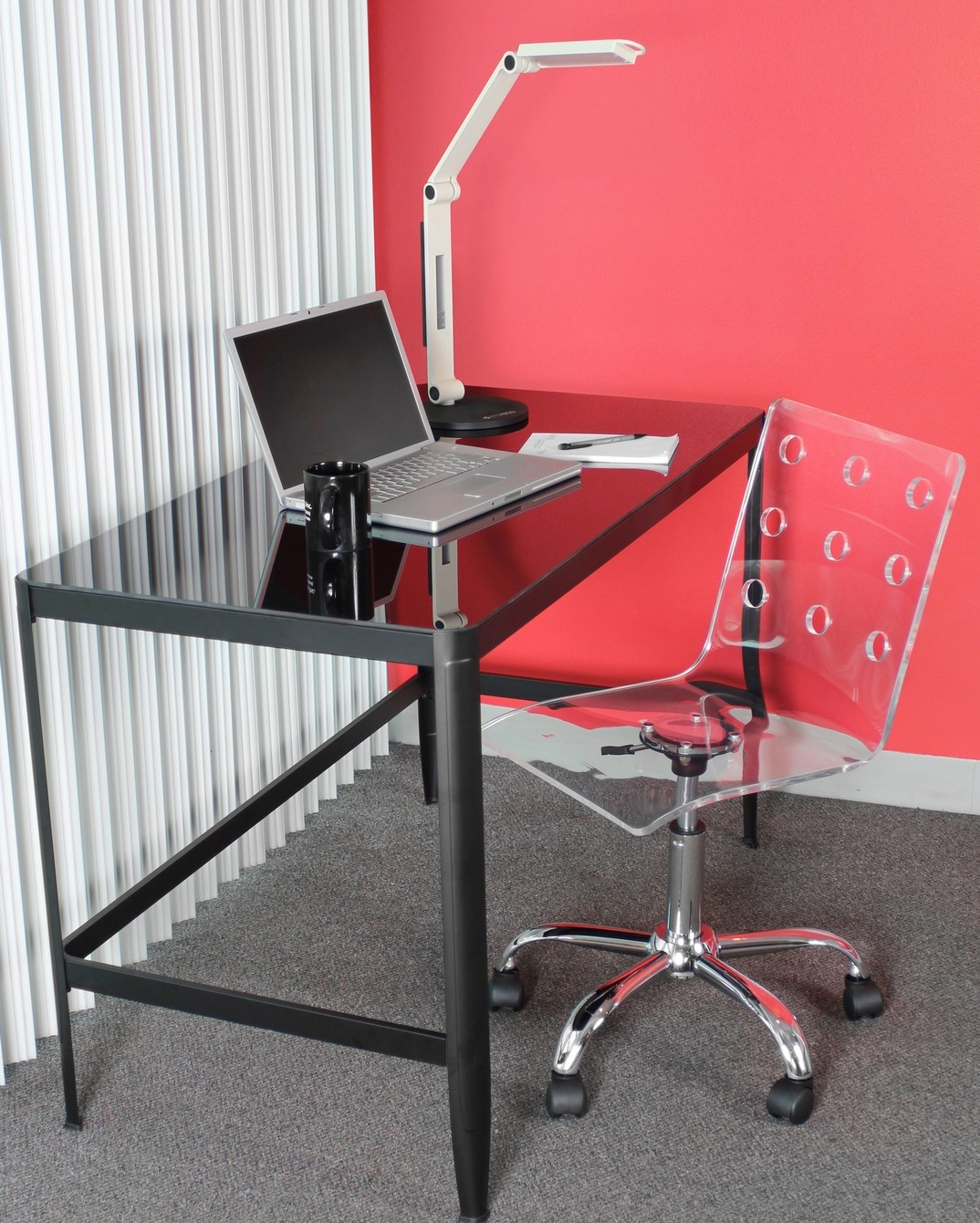 LumiSource Clear Office Chair