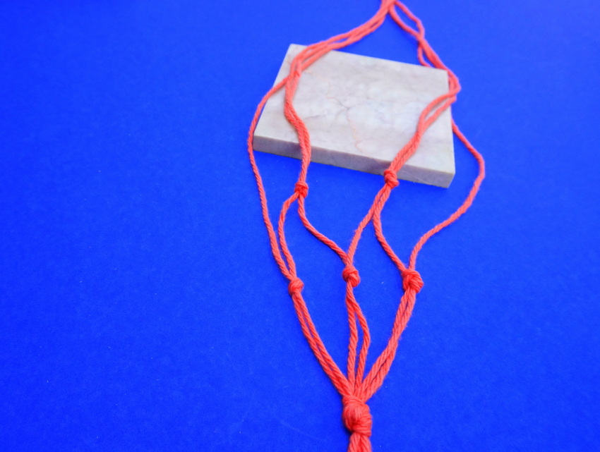 Macrame and marble