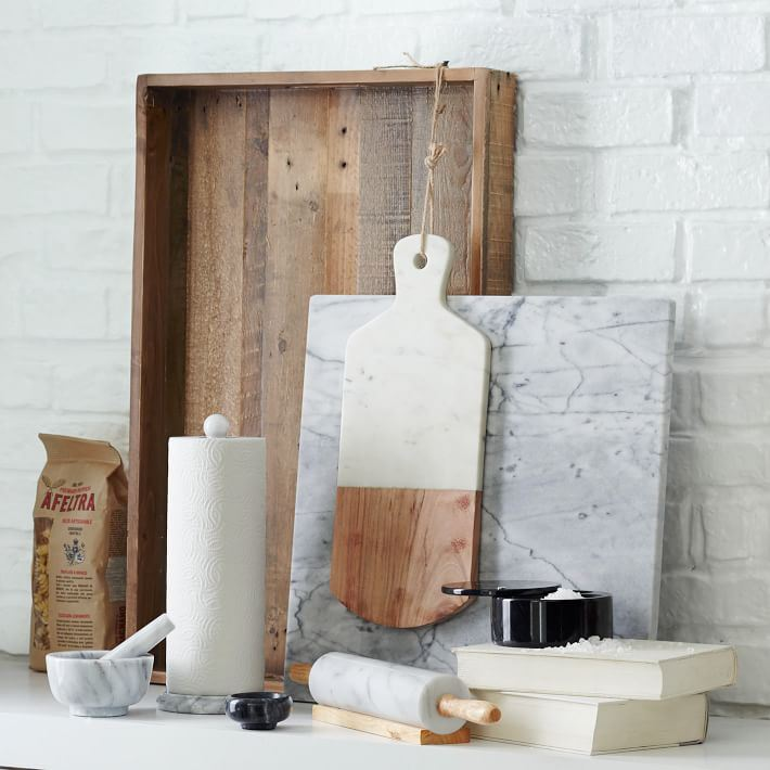 Marble kitchen accessories from West Elm