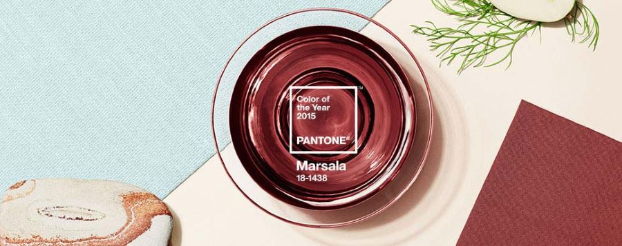 Marsala, Pantone's Color of the Year for 2015