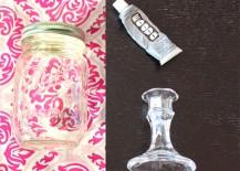 Mason Jar Wine Glass Materials