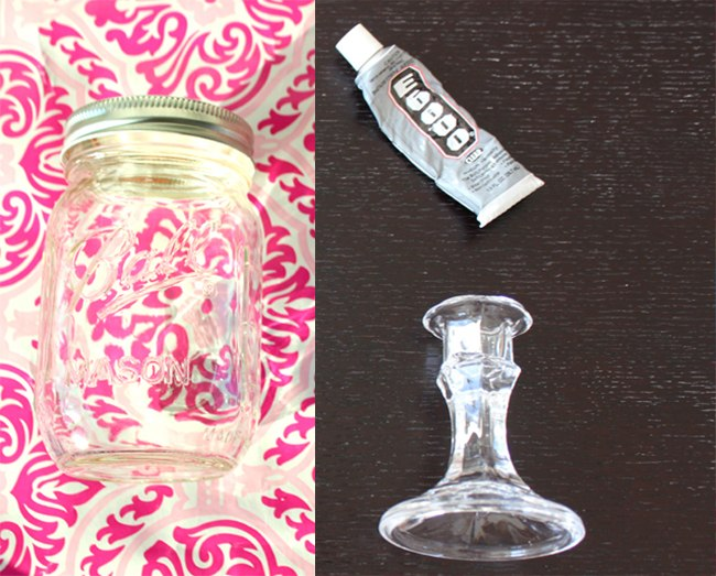 Mason Jar Wine Glass Materials