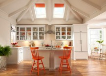 Matching-stools-and-skylight-blinds-give-the-kitchen-a-unique-look-217x155
