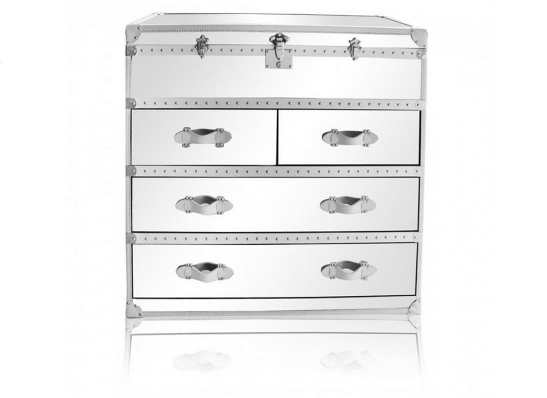 Maxfield Trunk Style Dresser White