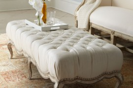 8 Plush Tufted Ottomans to Add Comfort and Functionality to Your Living Space