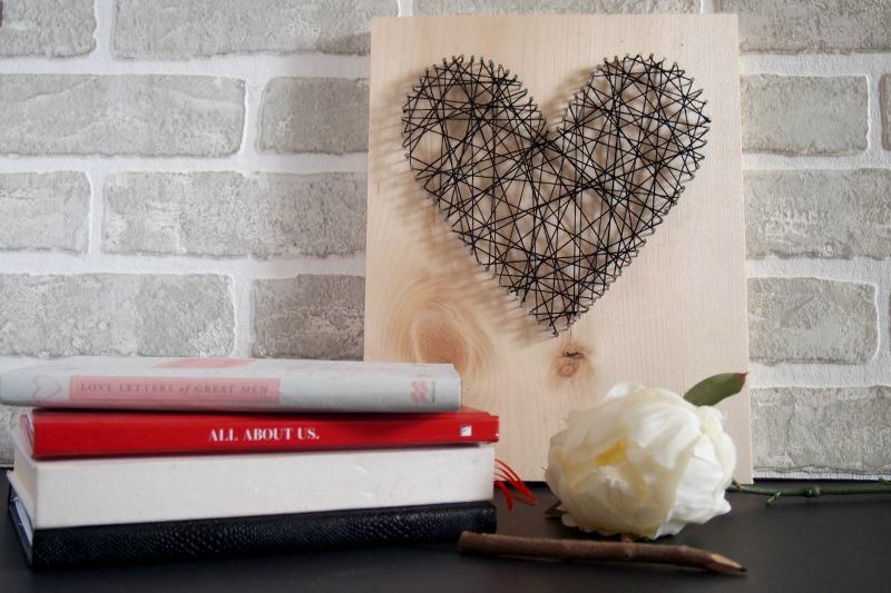 Minimalist heart artwork