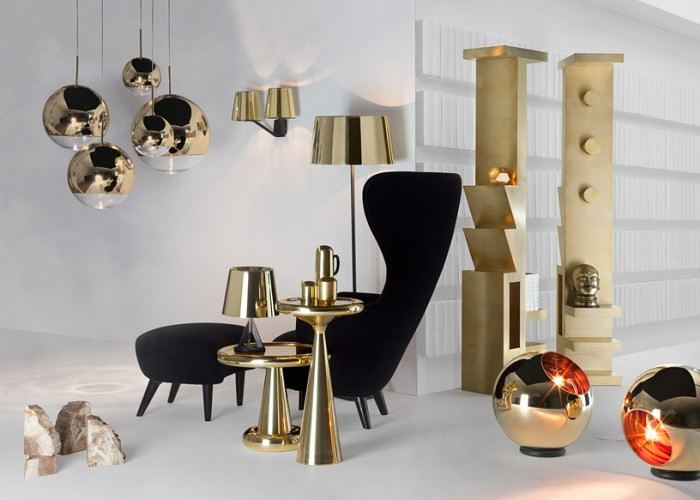 Mirror ball pendant lighting from Tom Dixon