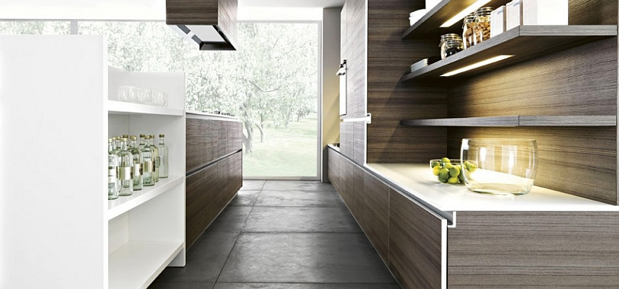 Modern Kitchen Design Ideas 2015 ~ Inspired contemporary kitchens with compositional freedom