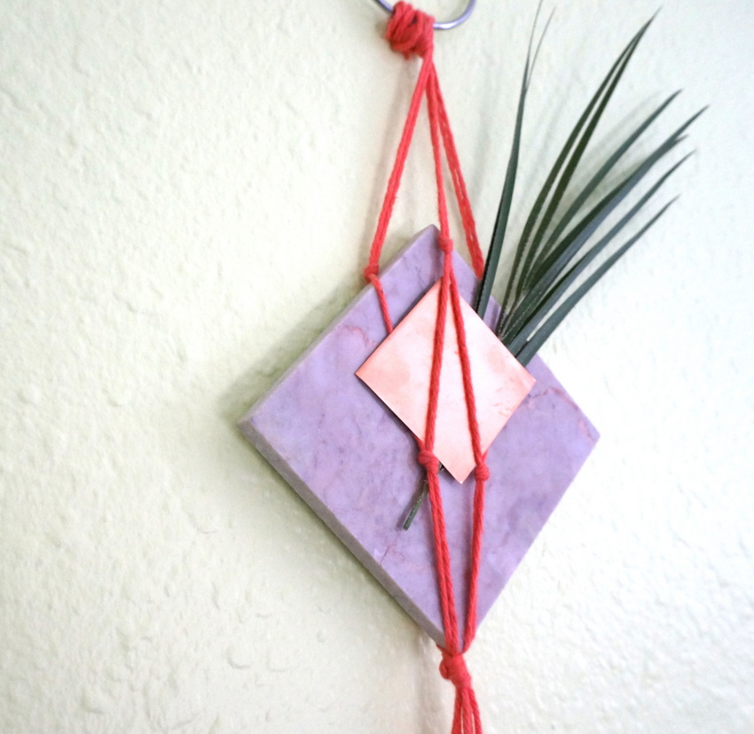 Modern marble wall hanging