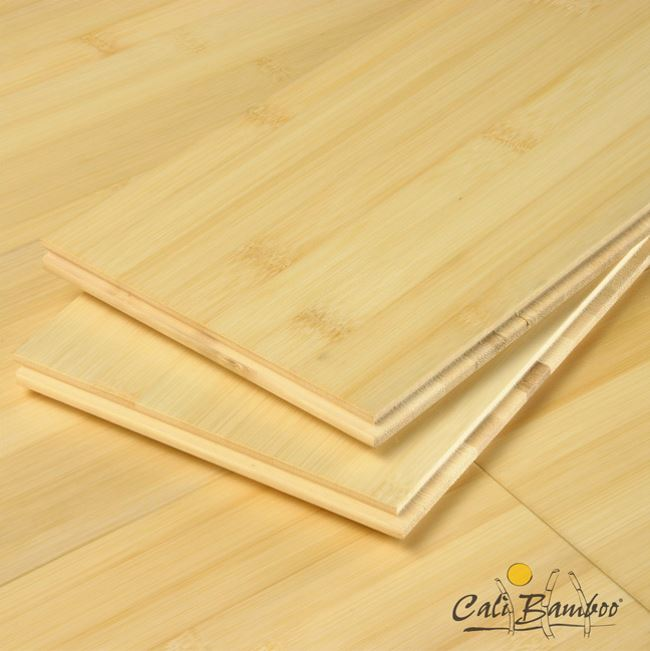 Natural organic bamboo flooring from Cali Bamboo