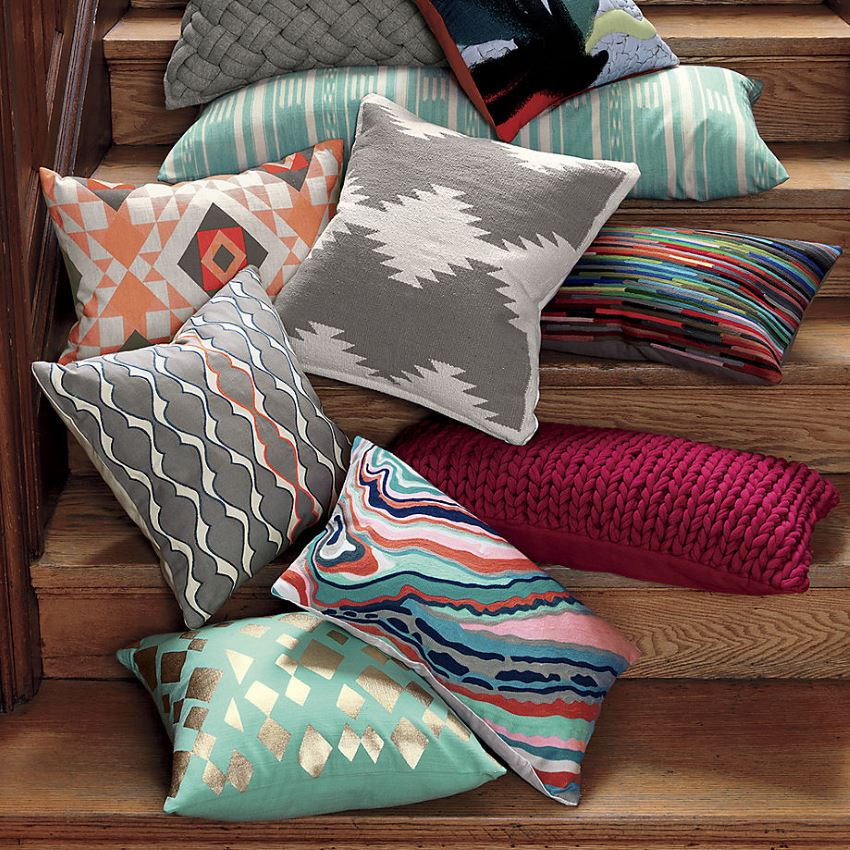 New pillows from CB2