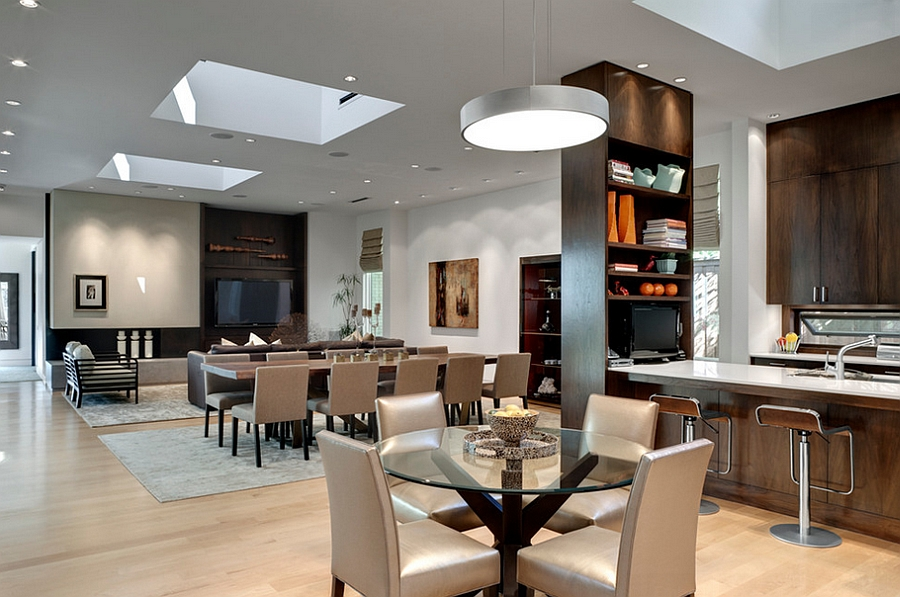 livingroom restaurant 27 dining rooms with skylights that steal the show 4899