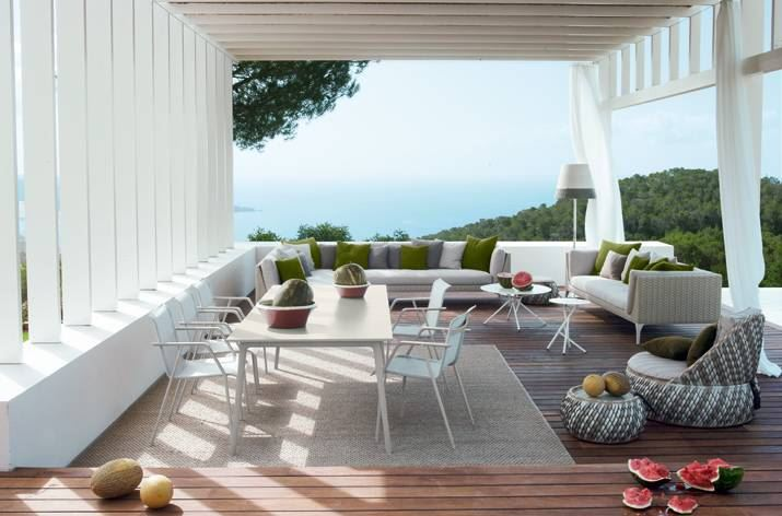 Outdoor furniture from Dedon