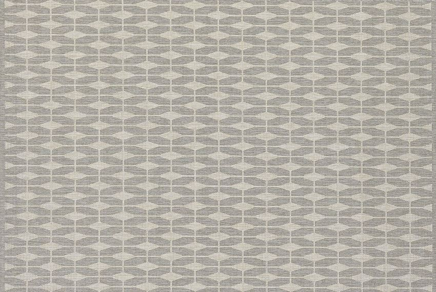 Patterned rug from Crate & Barrel