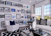Picture-ledges-used-to-create-an-inimitable-gallery-wall-217x155